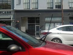 DSC01280 (classroomcamera) Tags: walk city san francisco car red mirror windshield wiper up cars drive driving urban concrete