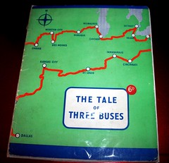 The Tale of Three Buses   1952 booklet. (Ledlon89) Tags: book books londonbooks bus londonbus londontransport lt lte londonbuses rtbuses aecregent leylandtitan usa canada tour 1952 bustour