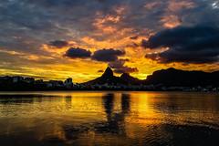 Lagoa Rodrigo de Freitas (Eden Fontes) Tags: riodejaneiro rj sunset pôrdosol lagoarodrigodefreitas