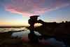 Last light (Derek Midgley) Tags: dsc3243 londonbridgeroad portsea rock formation evening sky reflections
