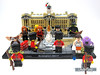 Standing guard at the front of Buckingham Palace (WhiteFang (Eurobricks)) Tags: lego exclusive instore purchase polybag royal guard britain uk london kingdom buckingham palace special cmfs minifigure