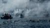 (georgedks) Tags: rafina greece boat sea ceremony theofania θεοφανίων fujifilm xt20