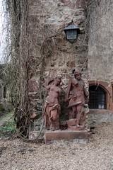 Skulpturen im Schmuckbogen von Schloss Fürstenau (reipa59) Tags: castle tor skulptur skulpturen schmuckbogen fürstenau schloss michelstadt hessen