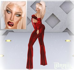 Queen Of The Catwalks (StyleTrendSL) Tags: evary hairbase omega queenz outift hair maitreya belleza isis freya venus ebody katena bimbo slink hourglass