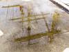 REFLEJOS (LUIS FELICIANO) Tags: reflejos agua charco barco velero palos muelle puerto vigo galicia españa airelibre olympus e5 lent1260mm