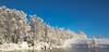 Winterwonderland 267 (Ståle Meyer) Tags: nikon winter vinter norge norway eidsvoll råholt akershus andelva blue snow river snø eidsvollverk nature d7000 landscape