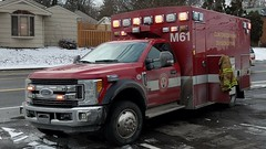 Medic 61 (Central Ohio Emergency Response) Tags: clinton township ohio columbus fire division ambulance medic ems