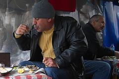 Pesciolini fritti (Zaporogo) Tags: istanbulricoh mangiare fritto