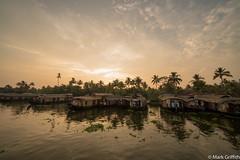 Sunset over Kerala (Mark Griffith) Tags: india kerala keralabackwaters sonya7riii thegreatbackwaters travel weekend worktravel
