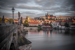 Charles Bridge Sunrise