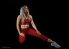 Tamsin Job (Allan Jones Photographer) Tags: tamsinjob modeltamsinjob fitnessmodeltamsinjob abs fit toned trained blonde creativelighting workoutclothes gymclothes trainers red piercings ink tattoo allanjonesphotographer canon5div canonef24105mmf4lisiiusm modellingshoot studio