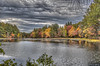 "Je me souviens, ""I have a dream."" (macnetdaemon) Tags: foilage autumn autumnal fall forest lake pond cloud sky hdr canon 7d markii plant leaves marsh reflection drking martinlutherkingjr drmartinlutherkingjr"