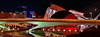 Nightscene of C.A.C. (gerard eder) Tags: world travel reise viajes europa europe españa spain spanien valencia städte street stadtlandschaft streetlife stadtderkünsteundwissenschaften streetart city ciudades cityscape cityview calatrava ciudaddelasartesyciencias cityofartsandsciences night noche nacht nikon outdoor brücken bridges panorama reflections spiegelung wasser water illumination iluminación