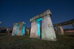 Stonehenge II (Nocturnal Kansas) Tags: night nocturnal lightpainting nightphotography nikon d800 flashlight led1 protomachines texas hillcountry stonehenge