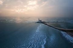 Marken, The Netherlands (sven483) Tags: paard marken horse lighthouse vuurtoren netherlands thenetherlands ice sea amsterdam volendam drone mavic