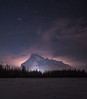 Mt Rundle + Orion (WherezJeff) Tags: alberta banff nationalpark nisi night orion waskahiganwatchi winter cloudmaker filter mountain naturalnight rundle d850