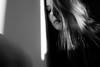 ... (Eli Modje) Tags: bw portrait lips blackandwhite face girl eye hair shadow light mystery black