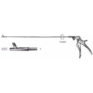 Rectal Biopsy Specimen Forceps 42.0 cm Turnable Shafts