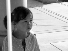 Lost in thought, what's she thinking? (vickilw) Tags: portrait thehuntington bw 6ws 432018 7daysofshooting week28 portraits blackandwhitewednesday 43118