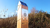 Solar Audio Post installed at RSPB Conwy