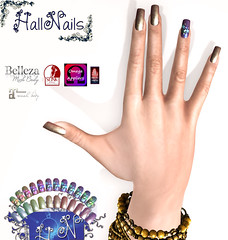 New Nails for HallNails ,Stelline for New for Event -Crazy-Fashion (MISS VIRTUAL WORD ♛ 2017 ❣لοץՖ ϾևԷԷΐ) Tags: nails nail nailart