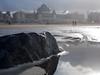 Rocksolid (gezipt1) Tags: beach olympus omd em10markii photography mft m43 macro dof mzuiko bokeh thehague scheveningen kurhaus sea sun winter water puddleshot
