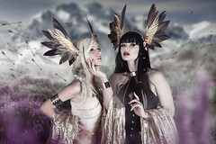 Valkyrie (Wurmwood Photography) Tags: valkyrie norse gods myth mythology ethereal photography fashion