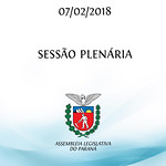 Sessão Plenária 07/02/2018