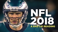 """NFL 2018"" — A Bad Lip Reading of the NFL (Xtrenz) Tags: bad badlipreading blr camnewton comedy foles funny game humor lip lipdub lipsync nfl quarterback reading sunday superbowl tombrady"