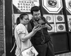 10th near Arch Streets, 2018 (Alan Barr) Tags: philadelphia 2018 chinatown 6thstreet archstreet street sp streetphotography streetphoto blackandwhite bw blackwhite mono monochrome city candid people olympus penf