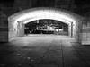 Licht im Tunnel (-BigM-) Tags: germany deutschland baden württemberg stuttgart neckar tunnel staatsgalerie beleuchtung