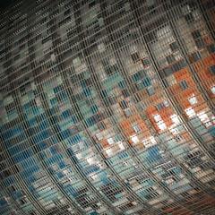 interstellar (zecaruso) Tags: torreagbar torreglòries jeannouvel bcn barcelona architettura architecture facciata facade be nikond300 zecaruso zeca ze ze² zequadro cicciocaruso