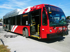 607 Training Bus (transit addict 327) Tags: viametropolitantransit bus novabus lfs cng compressednaturalgas sanantonio texas lg g6 phonecamera 2018 ingramtransitcenter