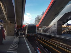 Metro station Kralingse Zoom (sander_sloots) Tags: metro rotterdam subway underground tube public transport ret kralingse zoom metrostation station metrostel mg21 bombardier set metrorotterdam50jaar