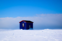 Pêche sur la glace (jpdu12) Tags: cabane pêche fishing jpdu12 jeanpierrebérubé rimouski tourismerimouski fish fleuve stlaurent river ice glace simplepleasures flickrfriday nikon d5300