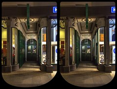 Passage zur Magazinstraße 3-D / Stereoscopy / CrossView / HDR / Raw (Stereotron) Tags: saxony sachsen zwickau muldenstadt magazinstrase night nacht architecture gründerzeit streetphotography urban quietearth europe germany crosseye crosseyed crossview xview cross eye pair freeview sidebyside sbs kreuzblick 3d 3dphoto 3dstereo 3rddimension spatial stereo stereo3d stereophoto stereophotography stereoscopic stereoscopy stereotron threedimensional stereoview stereophotomaker stereophotograph 3dpicture 3dglasses 3dimage canon eos 550d chacha singlelens kitlens 1855mm tonemapping hdr hdri raw