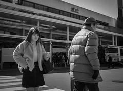 Traffic jam (Bill Morgan) Tags: fujifilm fuji x100f bw jpeg acros street kichijoji tokyo