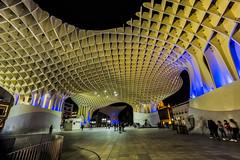 Plaza de las setas (por agustinruizmorilla) Tags: architecture metropol parasol seville sevilla plaza square moderno modern practico tipico tipical