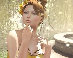 Look Here She Comes (Alisaundra Andel) Tags: enchantment naminoke zibska slshopping slfashion theme beautythebeast