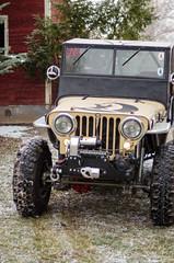 Jeep & Snow -11 (sammycj2a) Tags: willys jeep snow nikon rockcrawler winch factor55 ogden utah