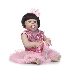 57cm Reborn Babe Full Vinyl Soft Silicone Body Newborn Baby Doll Toy Birthday Christmas Gifts (1254530) #Banggood (SuperDeals.BG) Tags: superdeals banggood toys hobbies 57cm reborn babe full vinyl soft silicone body newborn baby doll toy birthday christmas gifts 1254530