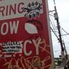 Graffiti stickers 2018 (mcknightpercy) Tags: cincinnati flickr marker color streetart street tags 2018 sticker gamble photo public 213 404 513 pma ads style artwork art bitch slut graff kelsoe graffiti tag slaps slap ups claws