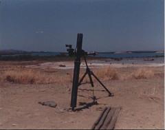 My mortar, Cuba 1988 (1811/1812 USMC) Tags: marine marines cuba guantanamo 1988 mortar m29a1 horizon bay water sky usmc navy navalbase