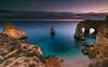 Stranded (marcolemos71) Tags: seascape sea atlanticocean portuguesecoast rocks sky dusk sunset erosion marinhabeach longexposure lagoa algarve leefilters marcolemos
