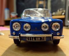 Renault R8 Gordini 1/24 (Jack 1954) Tags: car renault miniature ancêtre collection