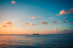 On the horizon (danieldthomas) Tags: grenada spice puregrenada isleofspice caribbean photography pentax pentaxian pentaxk50 outdoors paradise sunset sea colors tones colours beauty seascape art artistic photo