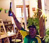 Chocolate and champagne at the Biltmore (Tom Holub) Tags: belize belizecity biltmore twostars