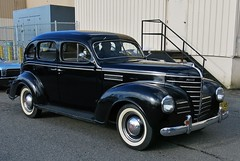 1939 Plymouth Deluxe 4-door sedan (Custom_Cab) Tags: 1939 plymouth deluxe 4door 4 door sedan black car p8