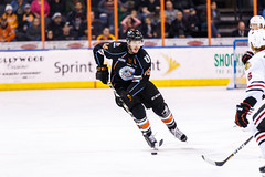 "Kansas City Mavericks vs. Indy Fuel, February 16, 2018, Silverstein Eye Centers Arena, Independence, Missouri.  Photo: © John Howe / Howe Creative Photography, all rights reserved 2018. • <a style=""font-size:0.8em;"" href=""http://www.flickr.com/photos/134016632@N02/39676461004/"" target=""_blank"">View on Flickr</a>"