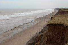 Holderness Coastline (mark_fr) Tags: holderness coast coastline fastest eroding europe south hornsea mappleton east riding yorks yorkshire erosion tidal action storm surge cliff cliffs soil tunstall